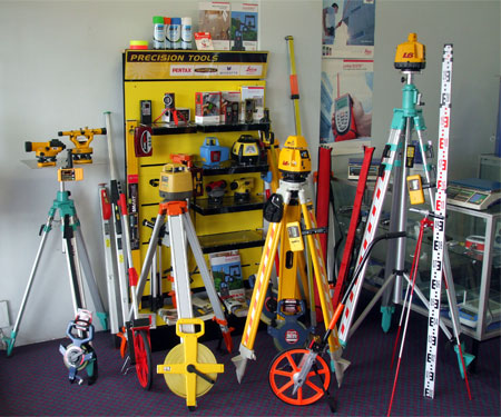 Elementary and Advanced Surveying Equipments and Their Uses