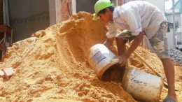 on field testing of sand