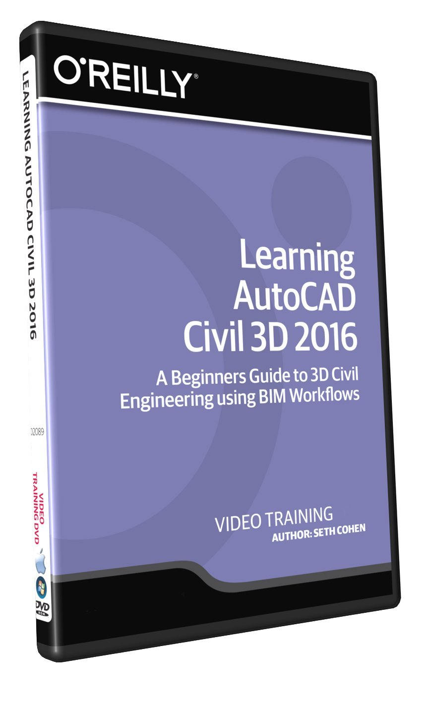 Learning AutoCAD Civil 3D 2016 – Training DVD