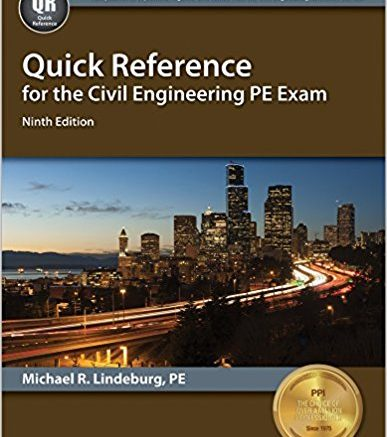 Quick-Reference-for-the-Civil-Engineering-PE-Exam-lindeburg pe