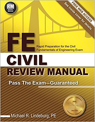 FE Civil Review Manual by Michael R. Lindeburg