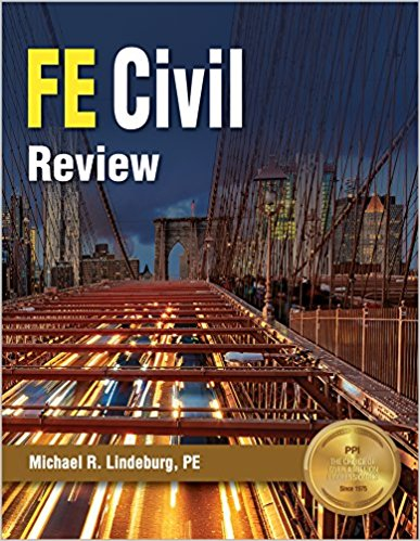 FE Civil Review by Michael R. Lindeburg-1st Ed.