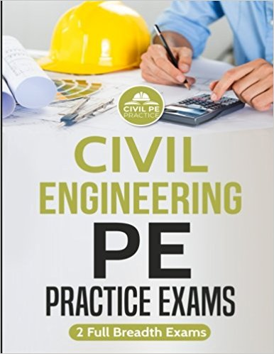 Civil Engineering PE Practice Exams-2 full Breadth Exams