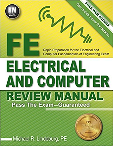 FE Electrical and Computer Review Manual by Lindeburg, PE-New Edition
