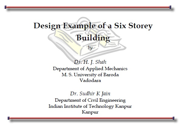 Complete Design of a Six Storey Commercial Building-pdf