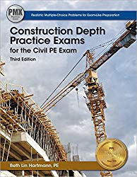 Construction Depth Practice Exams for the PE Exam