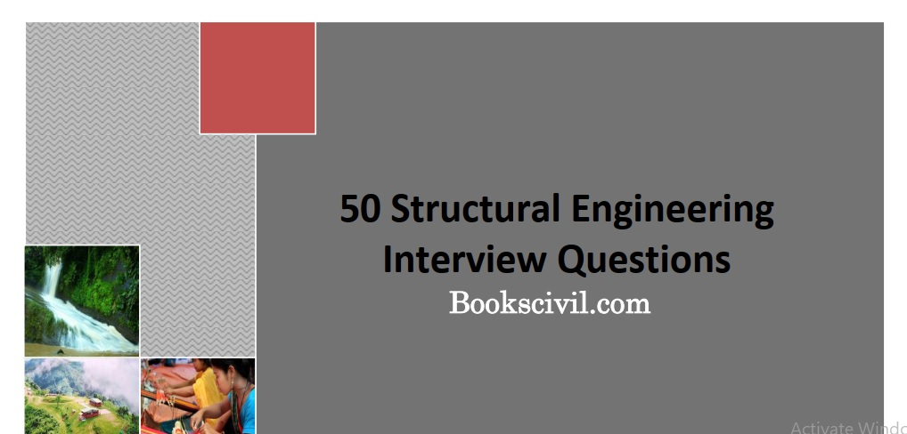 50 Structural Engineering Interview Questions-free e-book