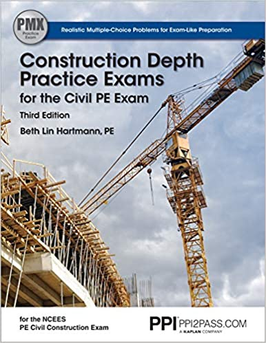 construction depth practic exams for the civil pe exam
