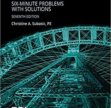 PE Structural Breadth Six Minute Problems with Solution